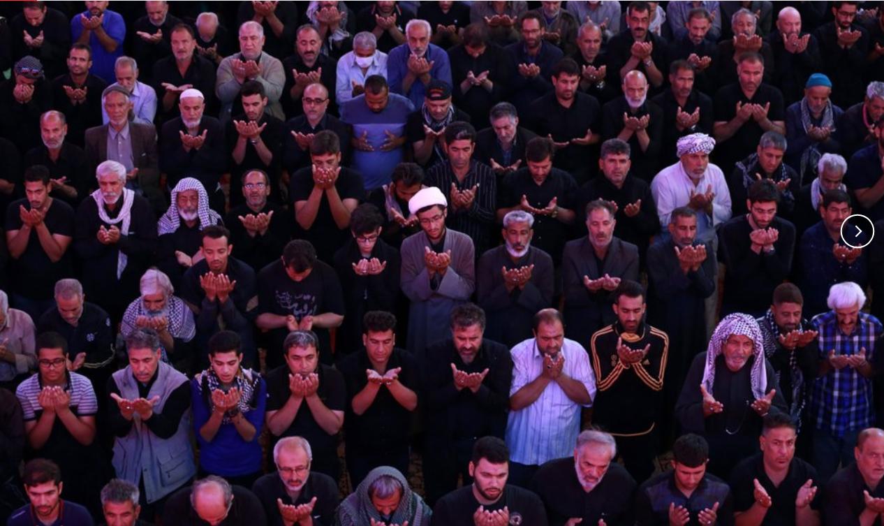 'Walk to heaven': Shiite pilgrims trek to Iraq's Karbala