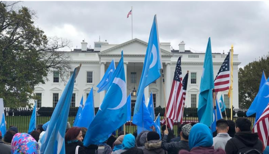 Uighurs marking 'independence day' call for international help