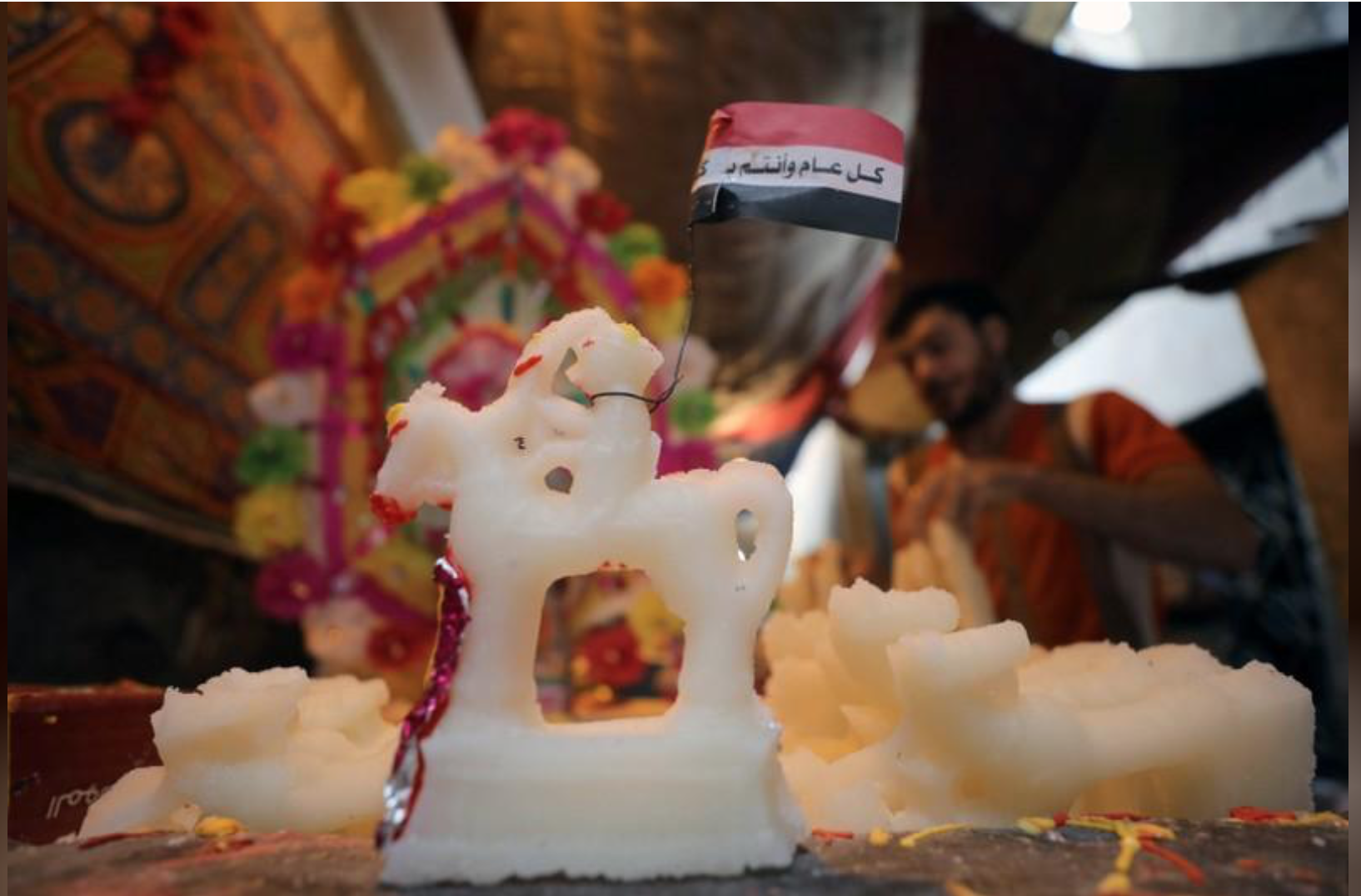 Egyptians celebrate Prophet Mohammad's birth but miss sugar dolls