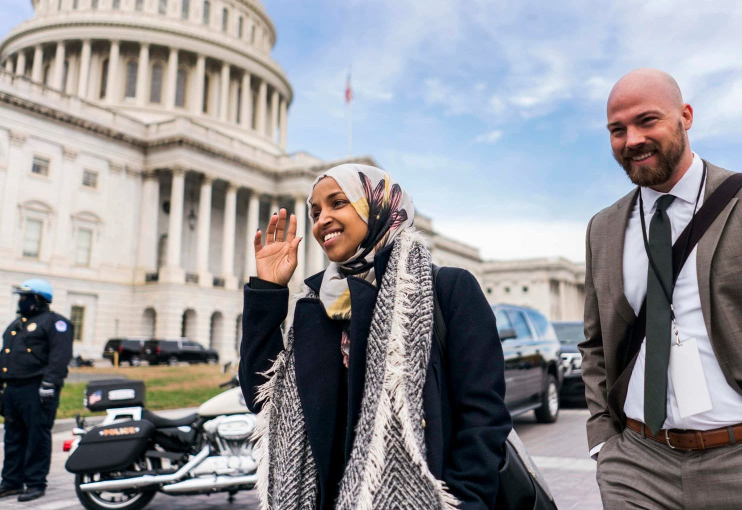 'Just deal,' Muslim lawmaker Ilhan Omar says to the pastor who complained about hijabs on House floor