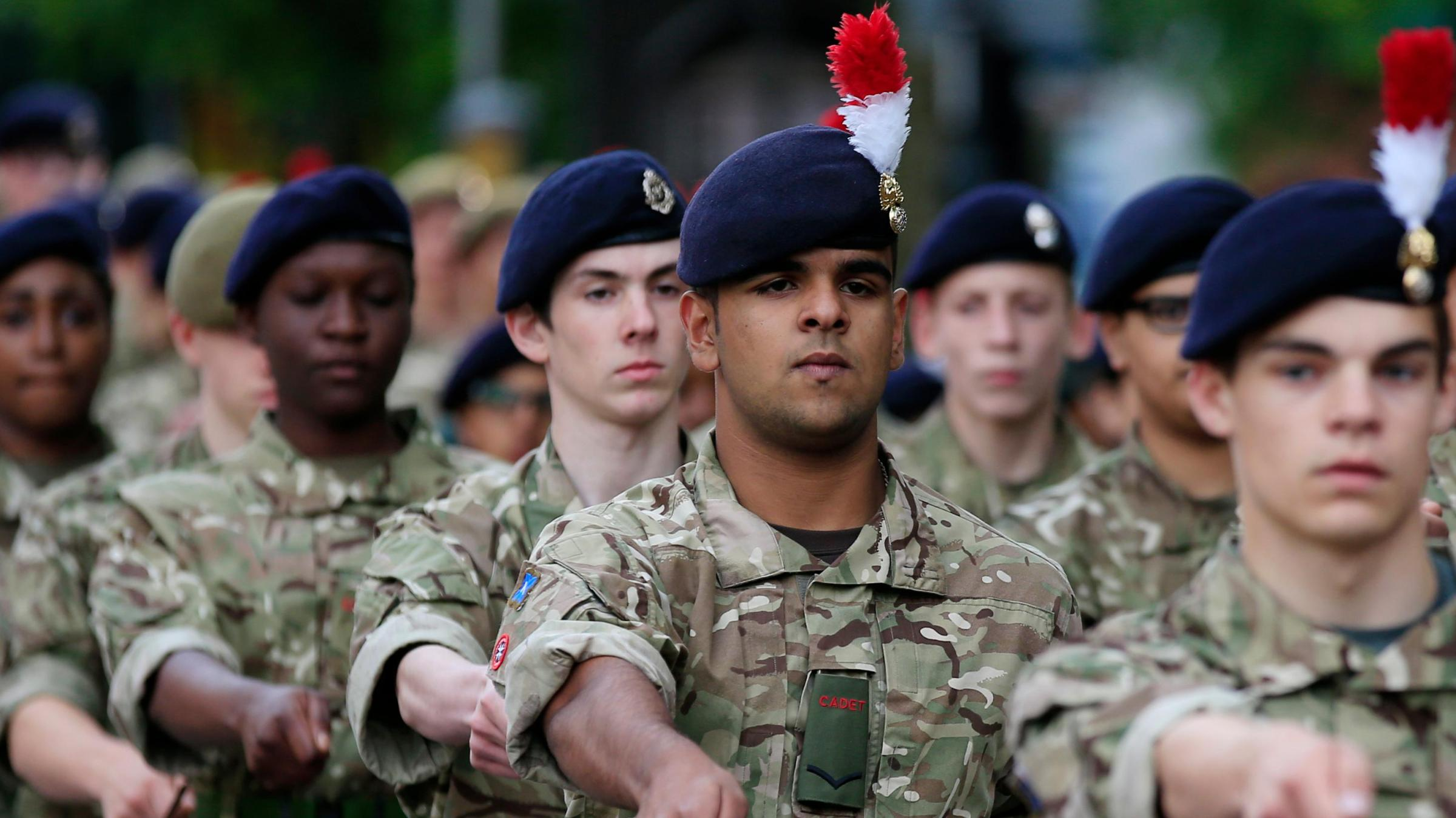 Islamic school starts an army cadet force
