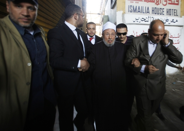 Egyptian cleric Yousef al-Qaradawi removed from Interpol 'wanted' list