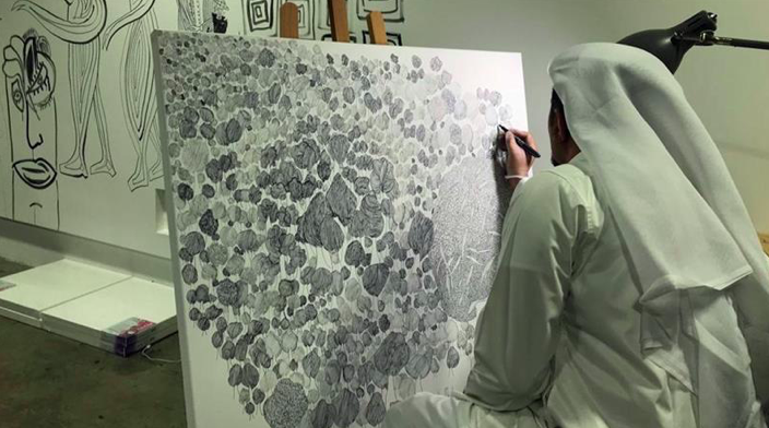 Qatari artist Yasser Al Mulla: Drawing a Sufi controversy