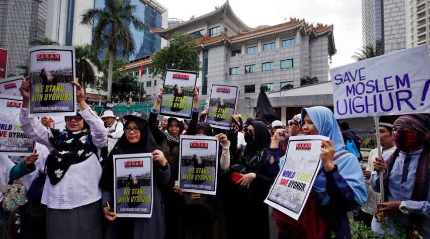 Pro-Uighur protests in Indonesia shadowed by ominous domestic politics