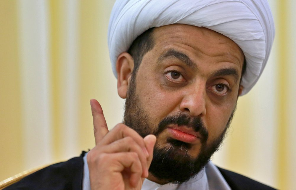 AP Interview: Iraqi militia leader wants US troops to leave