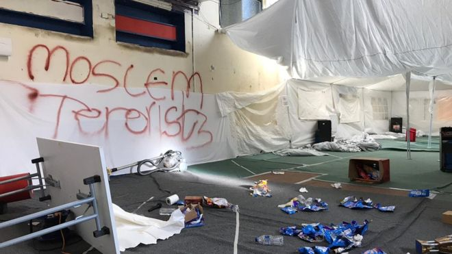 Newcastle Islamic school leaders 'reach out' to vandals
