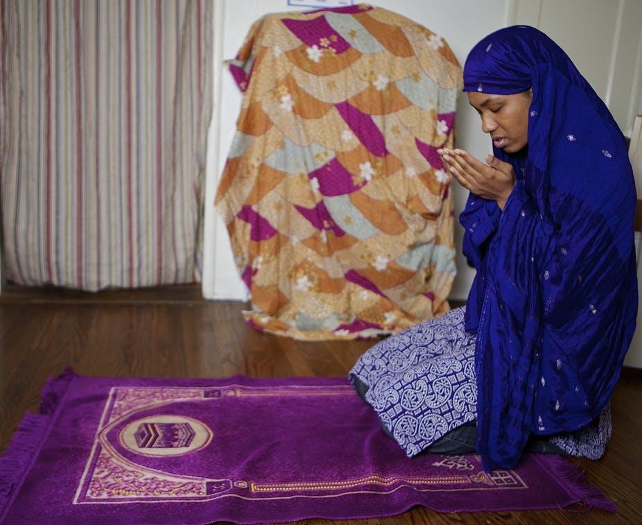 What are Muslim prayer rugs?