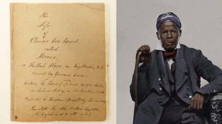 Rare autobiography of Muslim slave goes online via Library of Congress