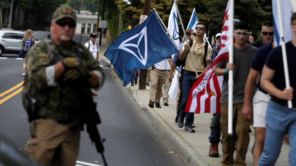 US militia members plead guilty to pipe bomb attack on mosque