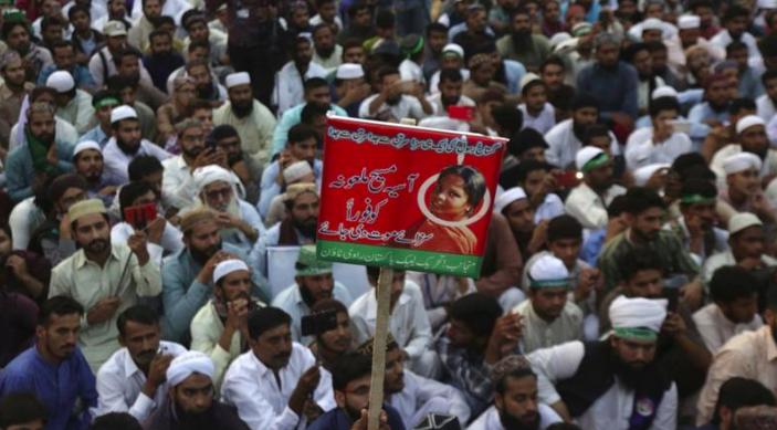 Aasia Bibi can't leave Pakistan despite acquittal
