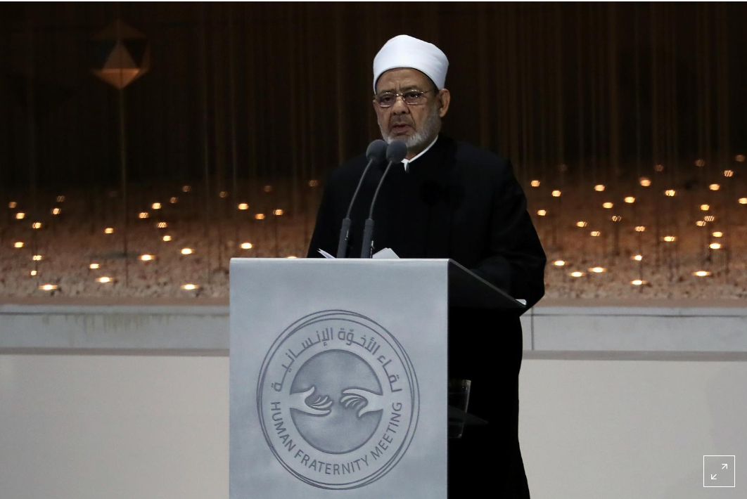 Al-Azhar's Imam calls on Muslims in the Middle East to 'embrace' Christians