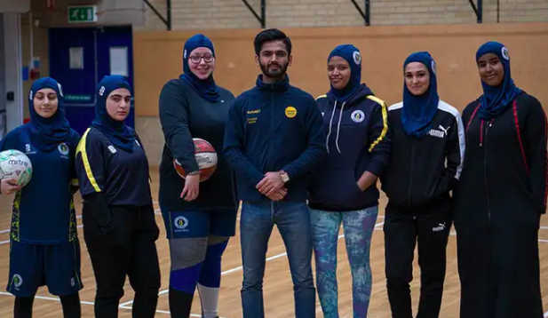 UK university unveils country's first sports hijab to encourage Muslim women to participate