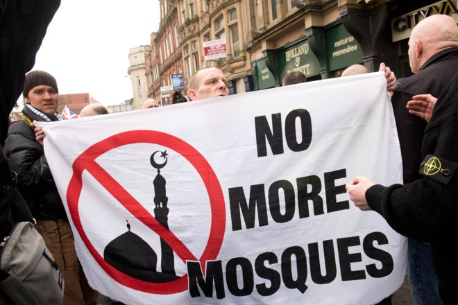 Islamophobia behind a far-right rise in the UK, report says