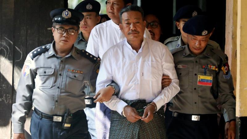Myanmar court sentences two to death for Muslim lawyer's murder