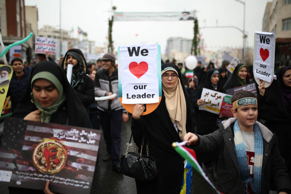 In Pictures: Iran celebrates 40 years of Islamic revolution
