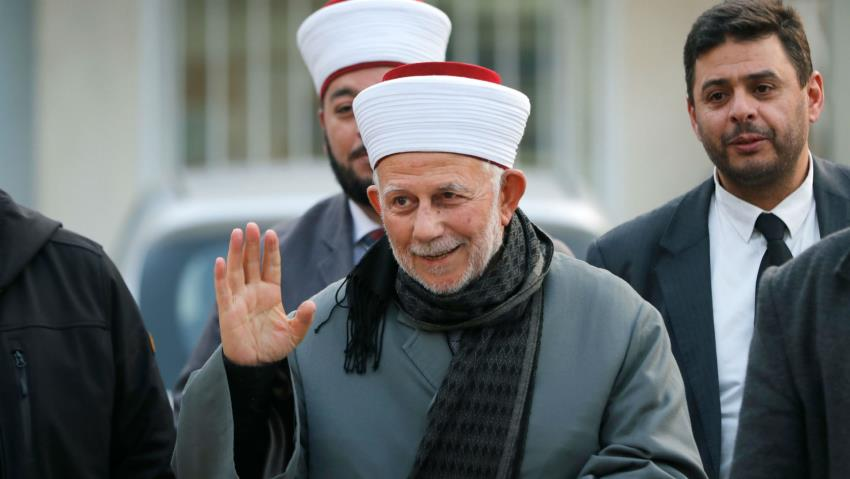 Israel releases top Muslim cleric arrested after al-Aqsa scuffle