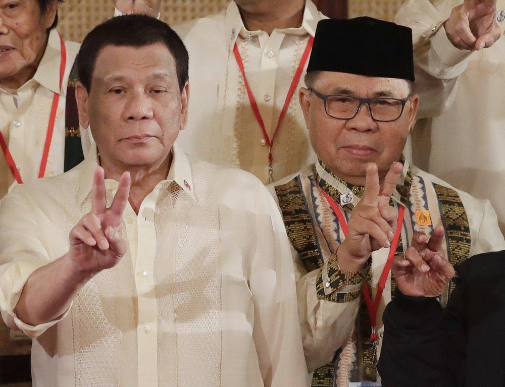 Ex-Muslim rebels now governing volatile Philippine region