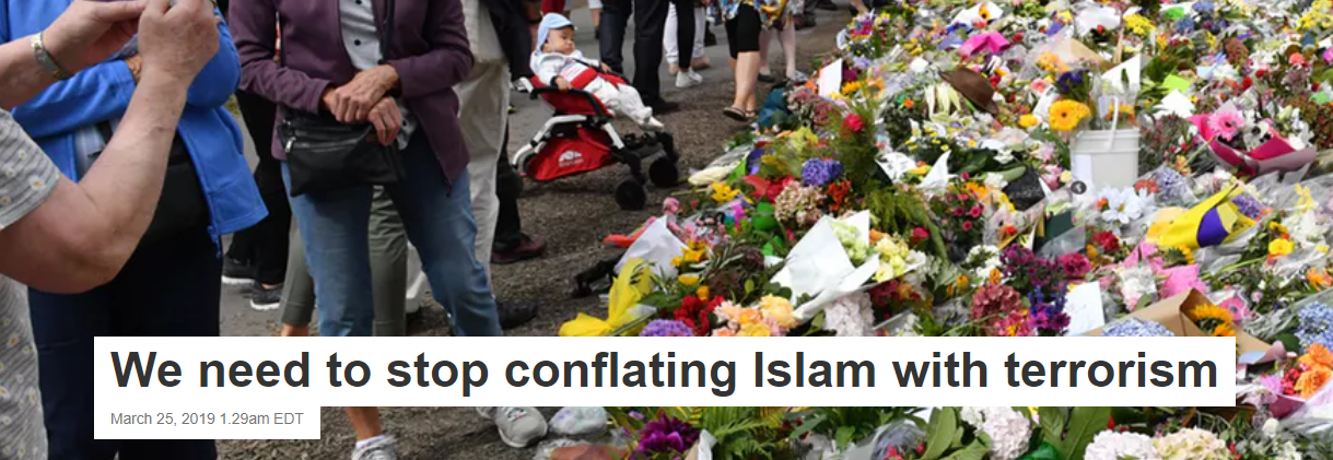 We need to stop conflating Islam with terrorism