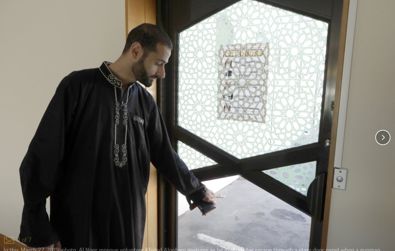 'It doesn't open': Mosque survivors describe terror at door