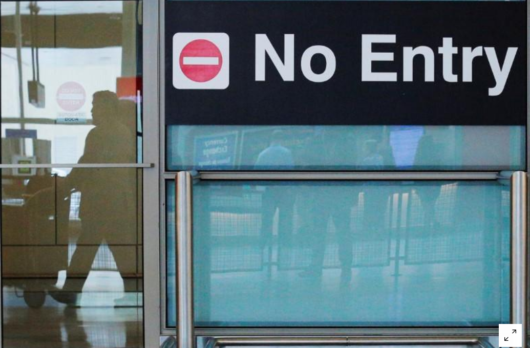 The U.S. denied tens of thousands of more visas in 2018 due to travel ban: data