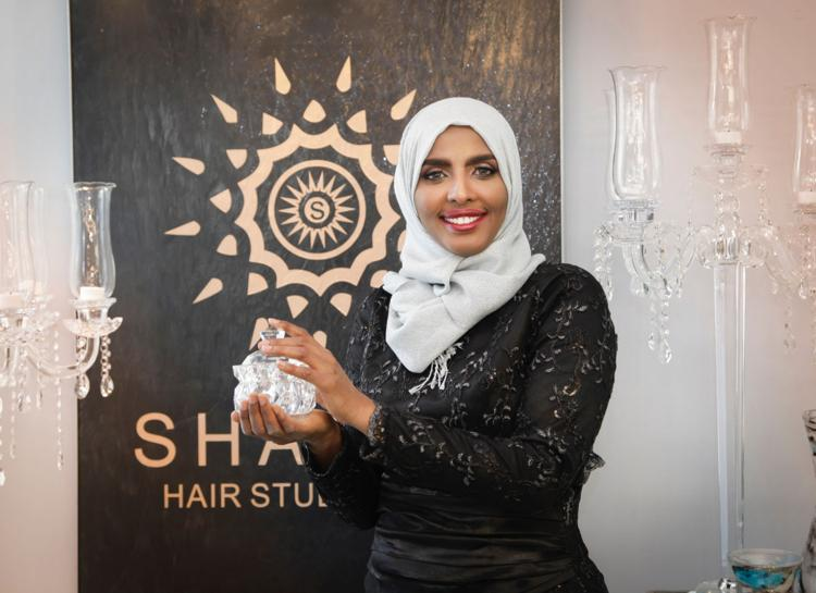 Hijab-wearing Muslim Americans get haircuts in basements, closets and restrooms. One salon wants to change that.