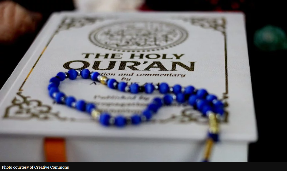 'This is about equality': Muslim couple produces braille Quran in English