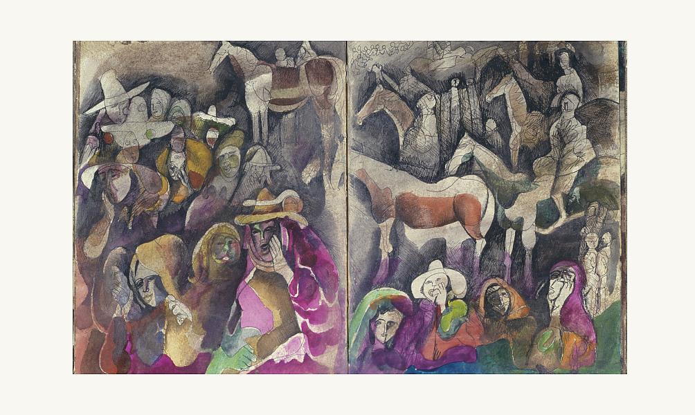 A la plume, au pinceau, au crayon: dessins du monde arabe