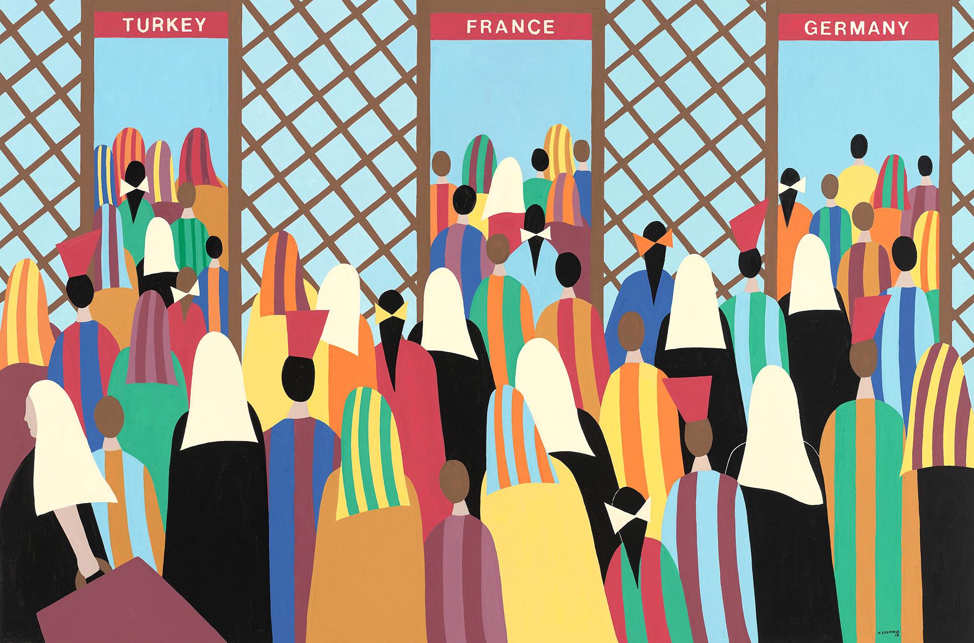 Helen Zughaib: Migrations