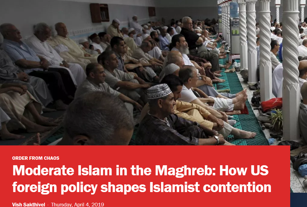 Moderate Islam in the Maghreb: How US foreign policy shapes Islamist contention