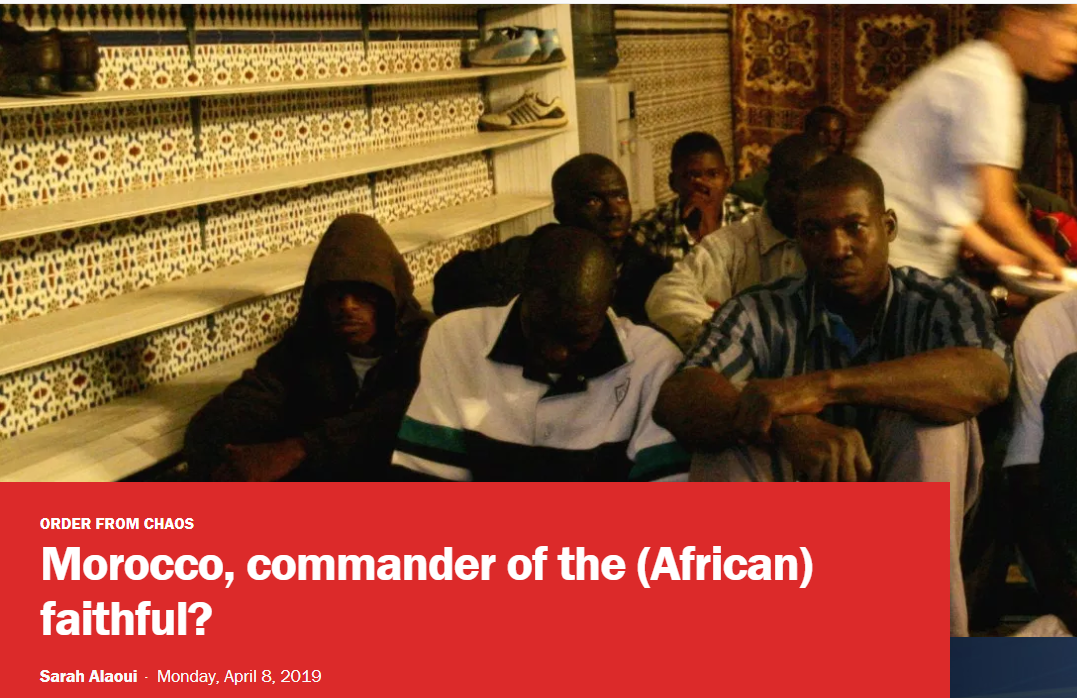 Morocco, commander of the (African) faithful?