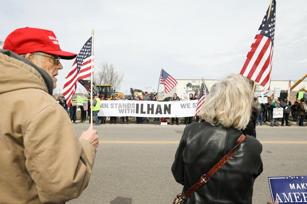 In Attacking Ilhan Omar, Trump Revives His Familiar Refrain Against Muslims