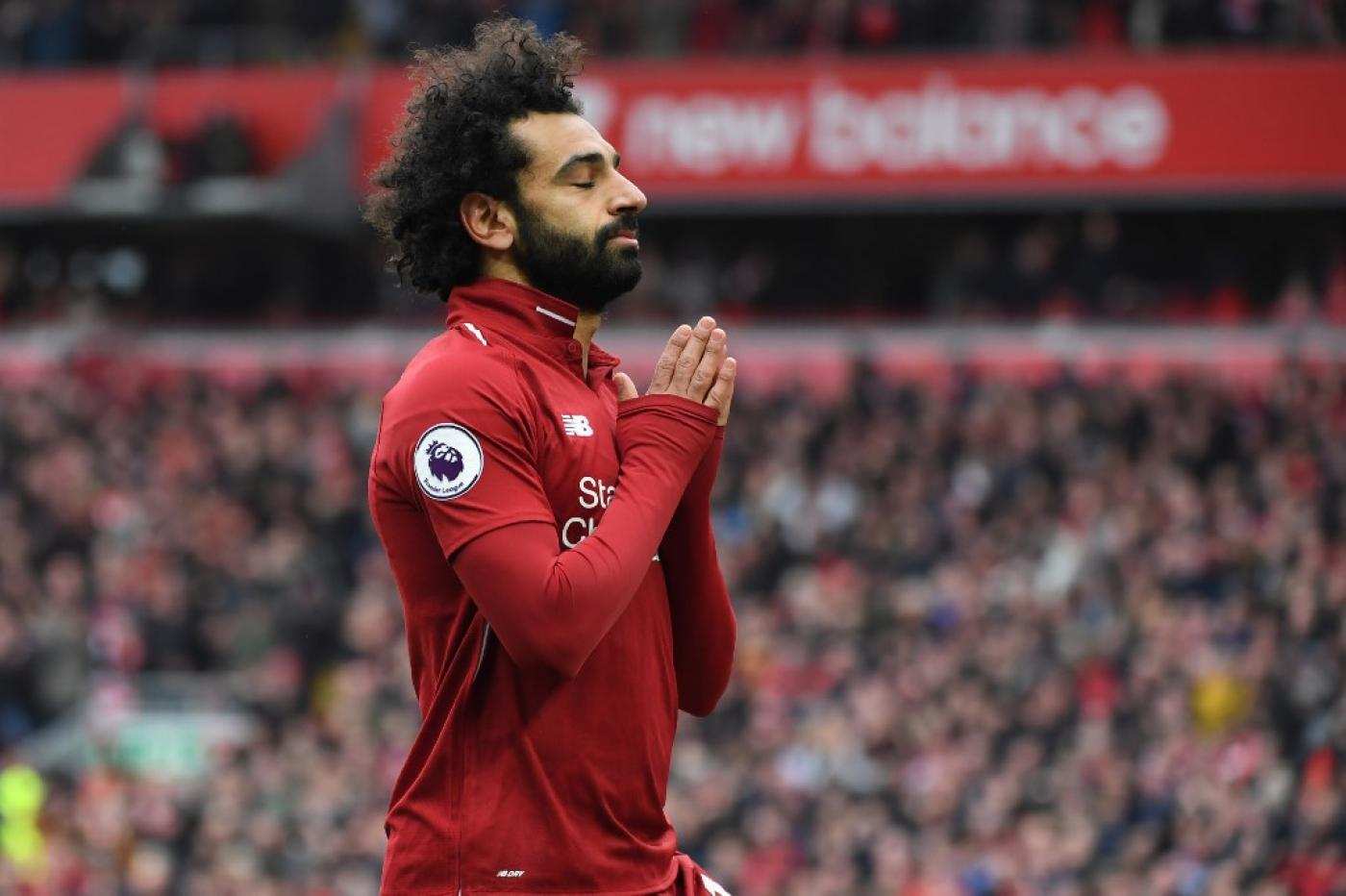 Mohamed Salah keeps his balance while Islamophobia persists