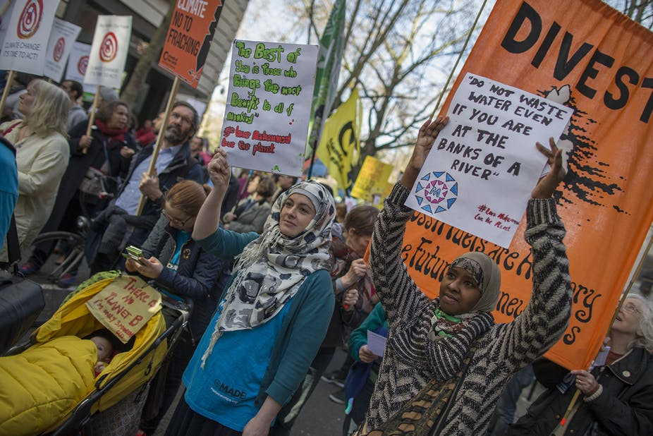 Ramadan: how a new generation of British Muslims are becoming more green