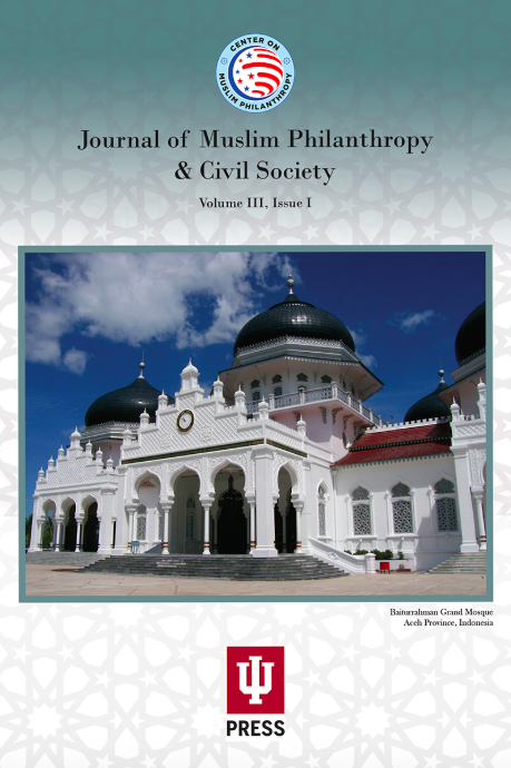 Journal of Muslim Philanthropy & Civil Society