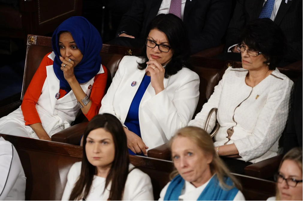Reps. Tlaib and Omar challenge the trope of modest Muslim women