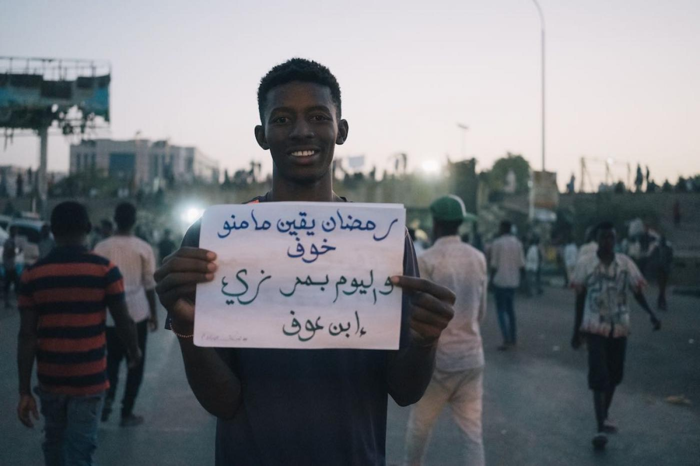 'Beautiful Ramadan': Prayers, celebrations, and determination at Sudan's protest sit-in