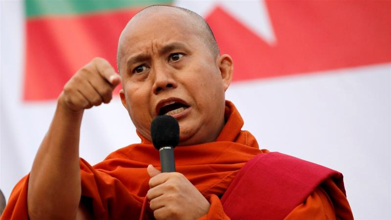 Myanmar: Arrest warrant issued for anti-Muslim monk Wirathu