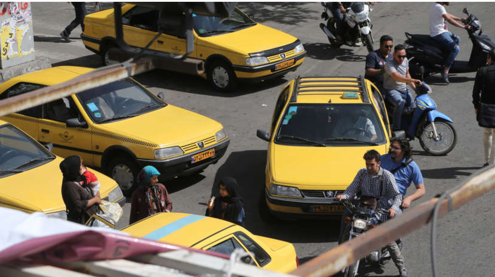 Iranian hard-liners praise taxi driver for booting passenger over 'poor' hijab