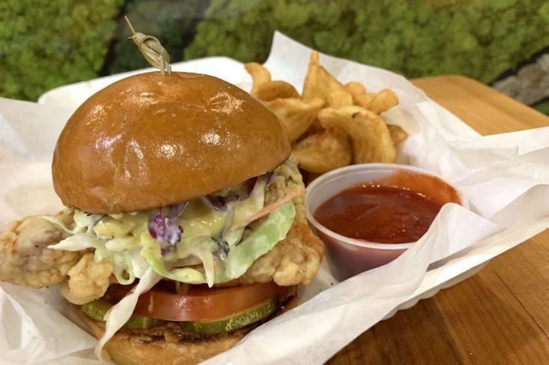 Grandeur brings halal and vegan burgers, fries and more to Adams Point
