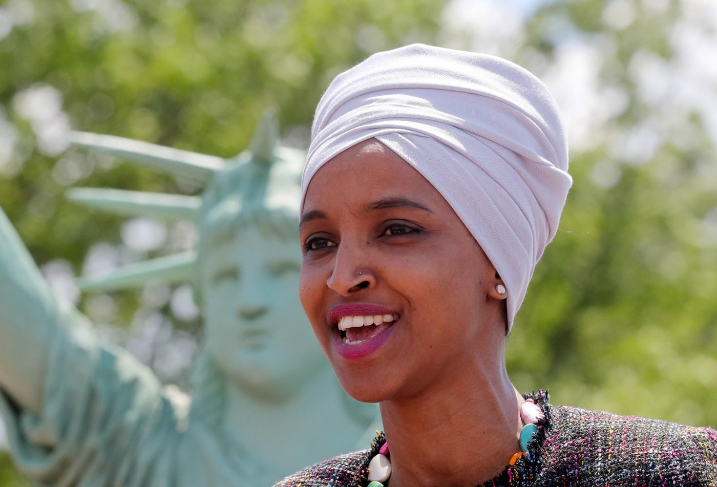 Somali. Black. Muslim. Woman. Refugee. American: The making of Ilhan Omar