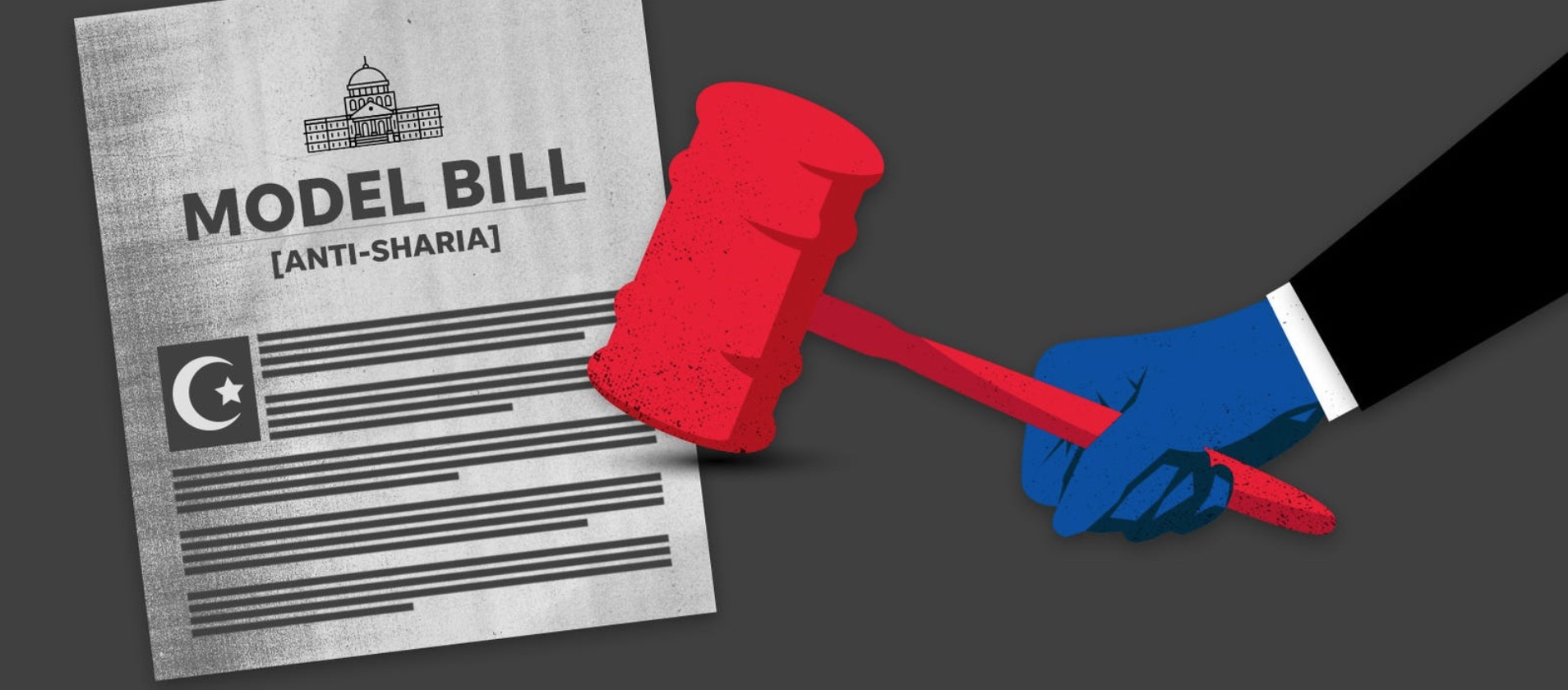 These copycat bills on sharia law and terrorism have no effect. Why do states keep passing them?