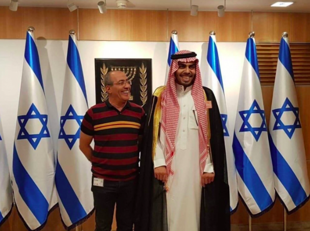 'Go pray in the Knesset,' Palestinians tell Saudi on Israeli-sponsored visit