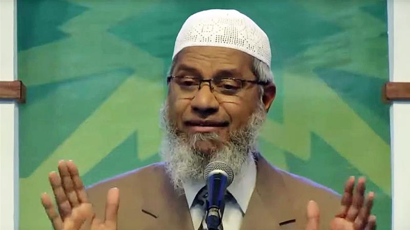 Malaysia ministers want Muslim preacher Zakir Naik expelled