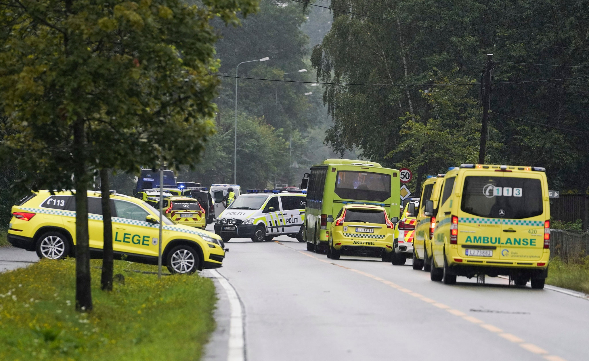After Attack on Norway Mosque, Body Found at Home Tied to Assailant