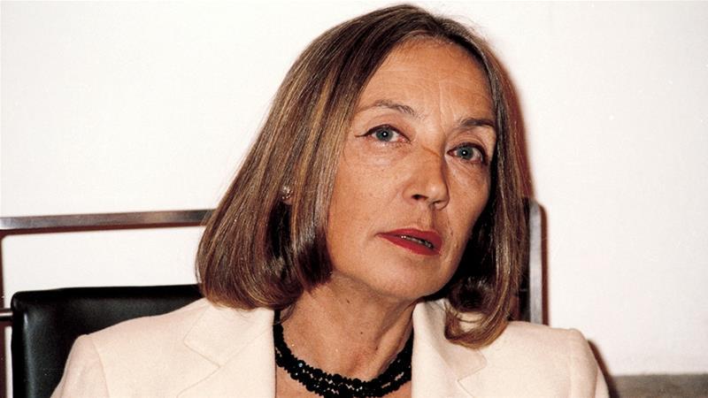 The resurgence of Oriana Fallaci's anti-Islam message in Italy