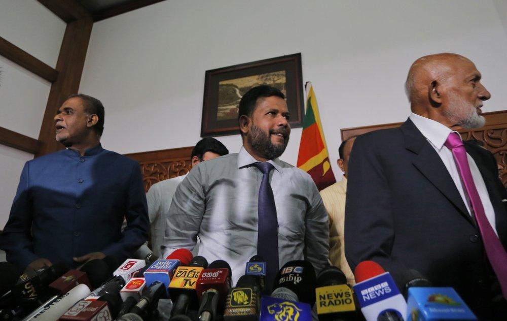 Resigned Sri Lankan Muslim politicians return to government