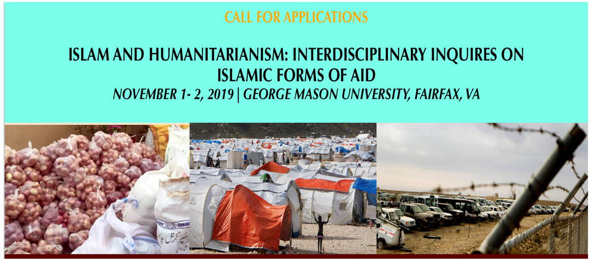 CFA- Islam and Humanitarianism: Interdisciplinary Inquiries on Islamic Forms of Aid