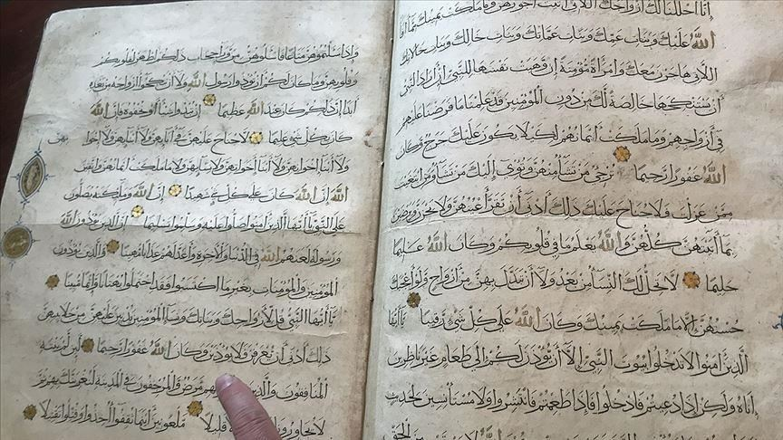 Turkey: 1,000-year-old Quran recovered from smugglers