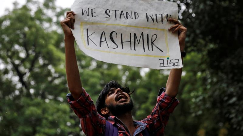 Hindus from Kashmir celebrate India move, Muslims feel 'deceived'