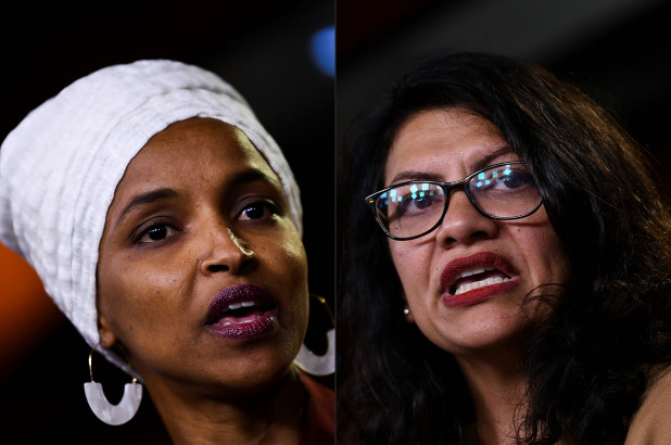Democratic leaders blast Israel for banning Tlaib and Omar